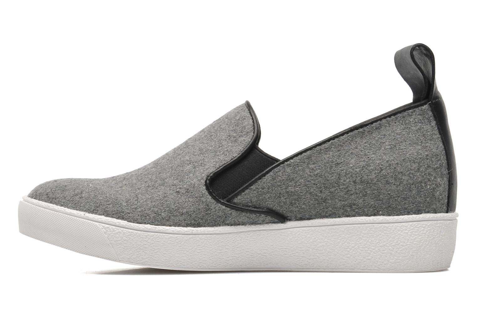 Trainers Shellys London Sarazen Grey front view