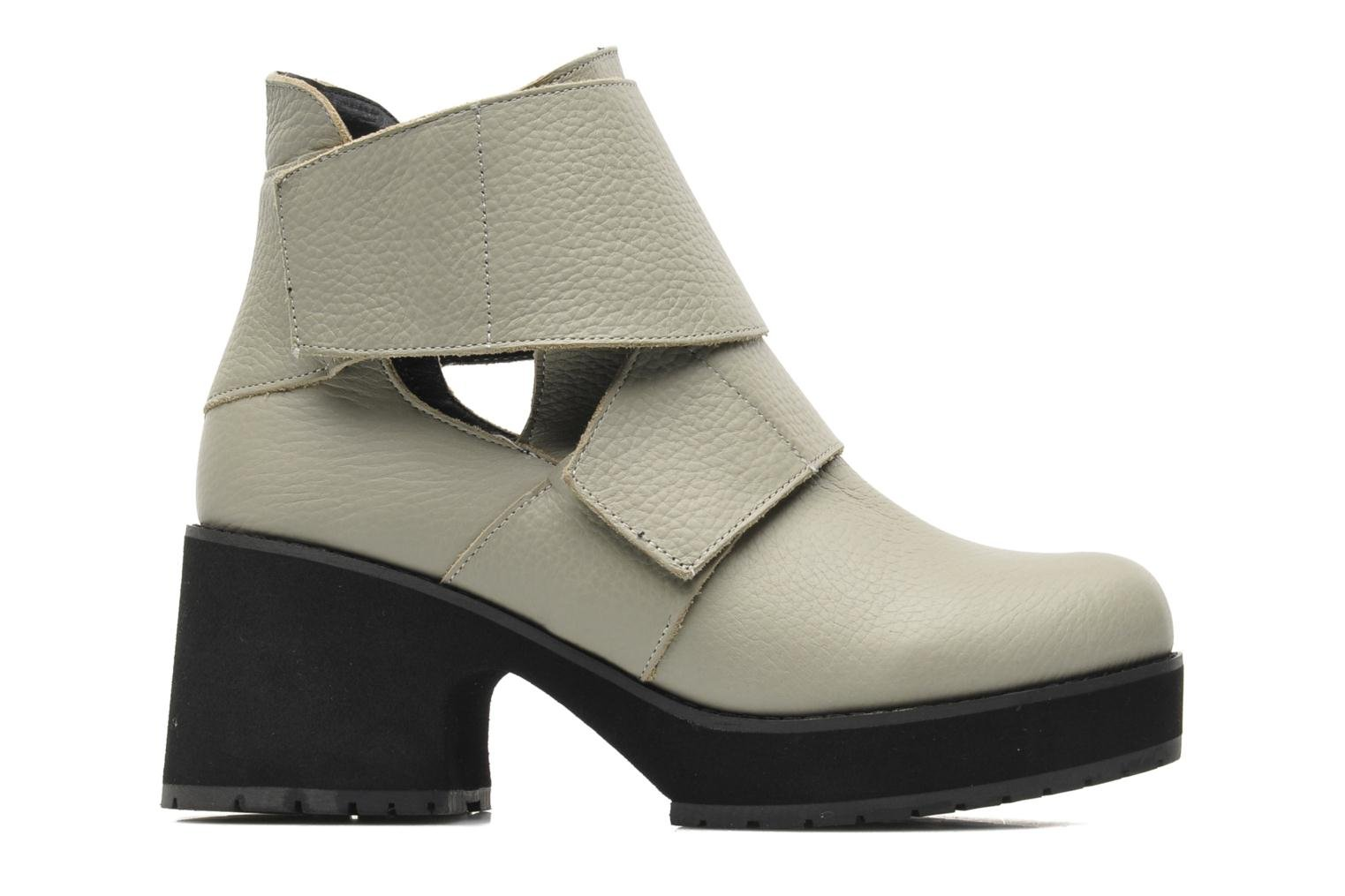 Ankle boots Shellys London Mieri Beige back view