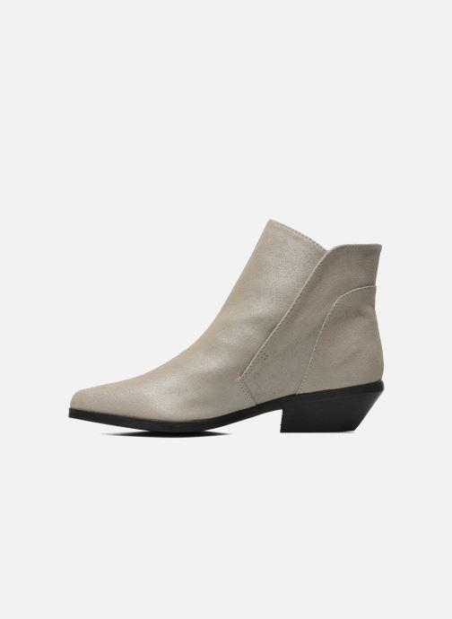 Bottines et boots Shellys London Hingston Gris vue face