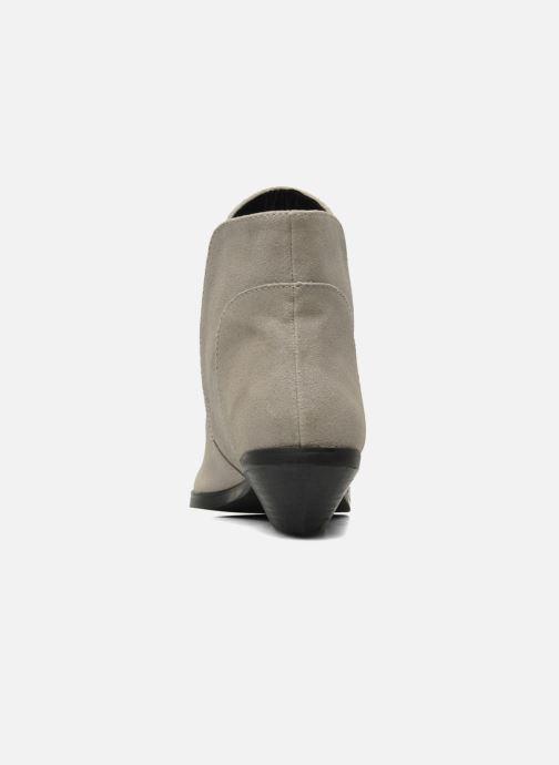 Bottines et boots Shellys London Hingston Gris vue droite