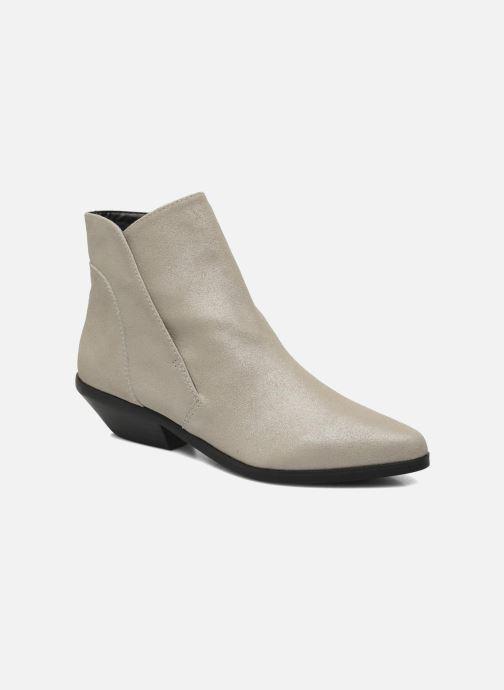 Ankelstøvler Shellys London Hingston Grå detaljeret billede af skoene
