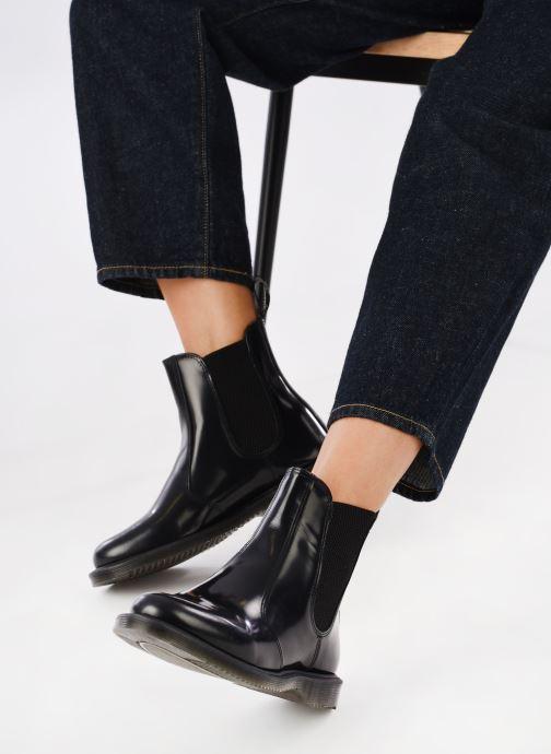 Bottines et boots Dr. Martens Flora Noir vue bas / vue portée sac