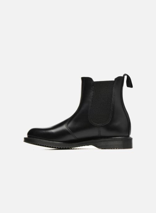 Boots en enkellaarsjes DR. Martens Flora Zwart voorkant