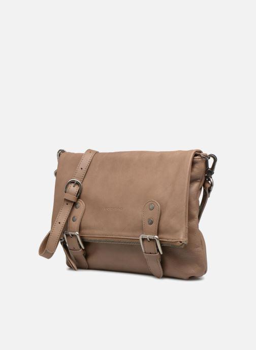 Handtaschen Sabrina Maëlle beige schuhe getragen