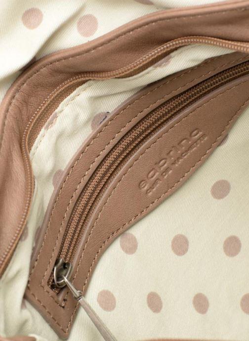 Handtaschen Sabrina Maëlle beige ansicht von hinten