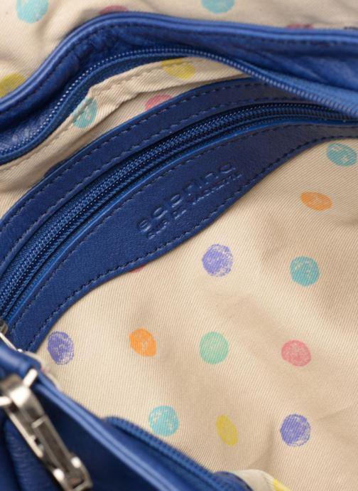 Handtaschen Sabrina Maëlle blau ansicht von hinten