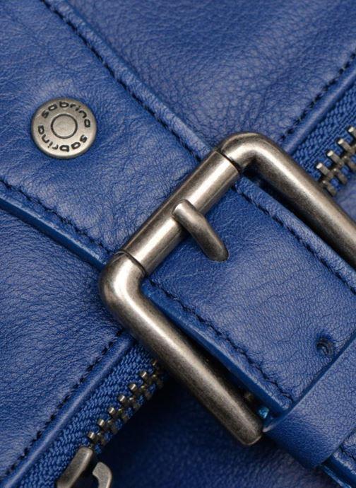 Handtaschen Sabrina Maëlle blau ansicht von links