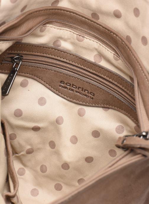 Handtassen Sabrina Maëlle Bruin achterkant