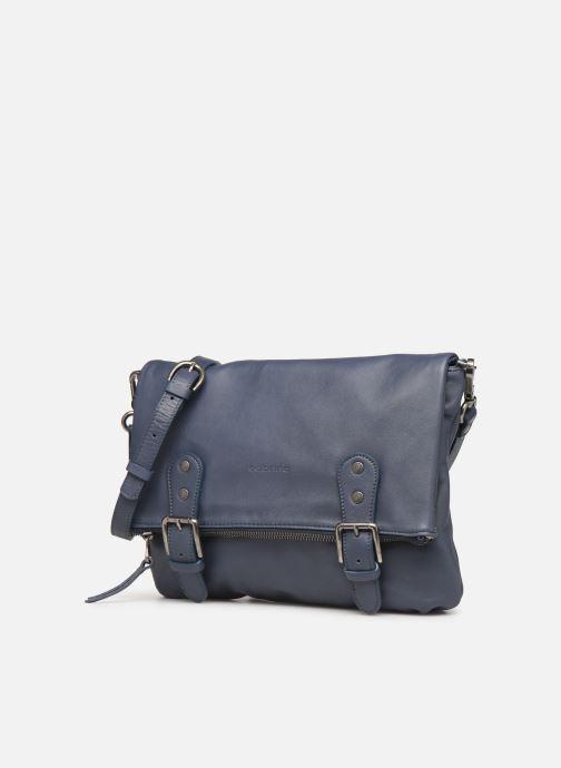 Handtaschen Sabrina Maëlle blau schuhe getragen