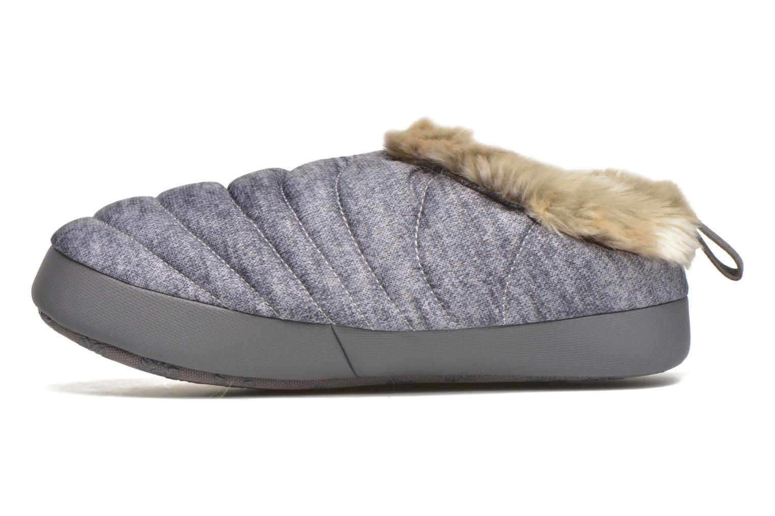 Chaussons The North Face W Nse Tent Mule Faux Fur II Gris vue face