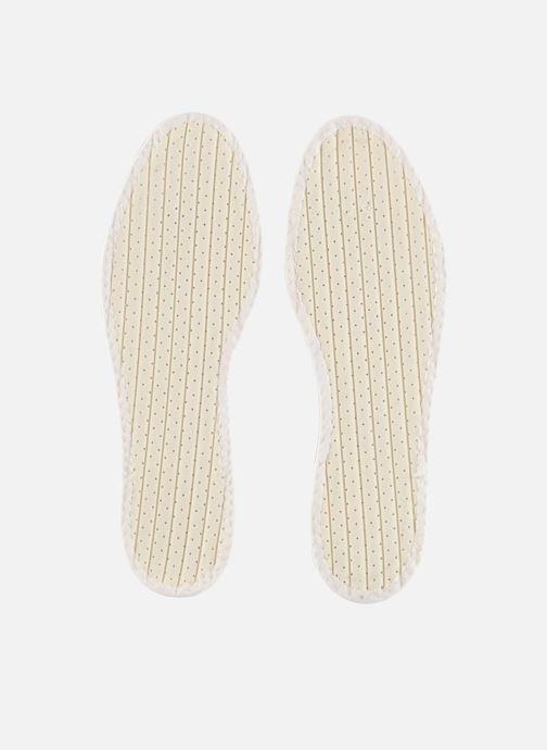 Solette Famaco Soletta cotone Tropicale Uomo Bianco modello indossato
