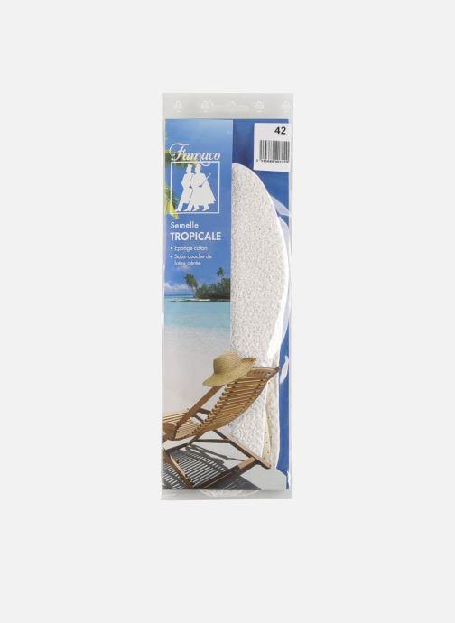 Zolen Famaco Katoenen zolen Tropical Heren Wit rechts