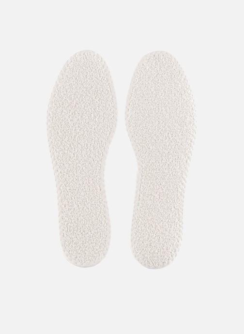 Såler Famaco Tropicale bomuldssål til mænd Hvid detaljeret billede af skoene