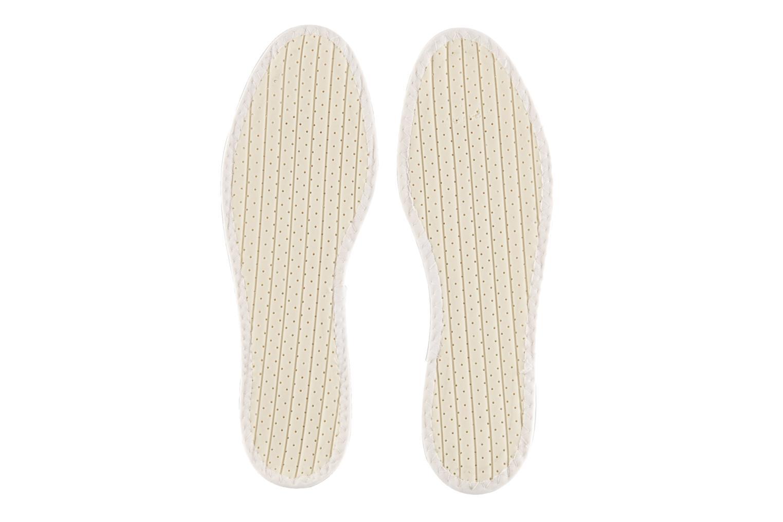 Semelles Famaco Semelle coton Tropicale Homme Blanc vue portées chaussures
