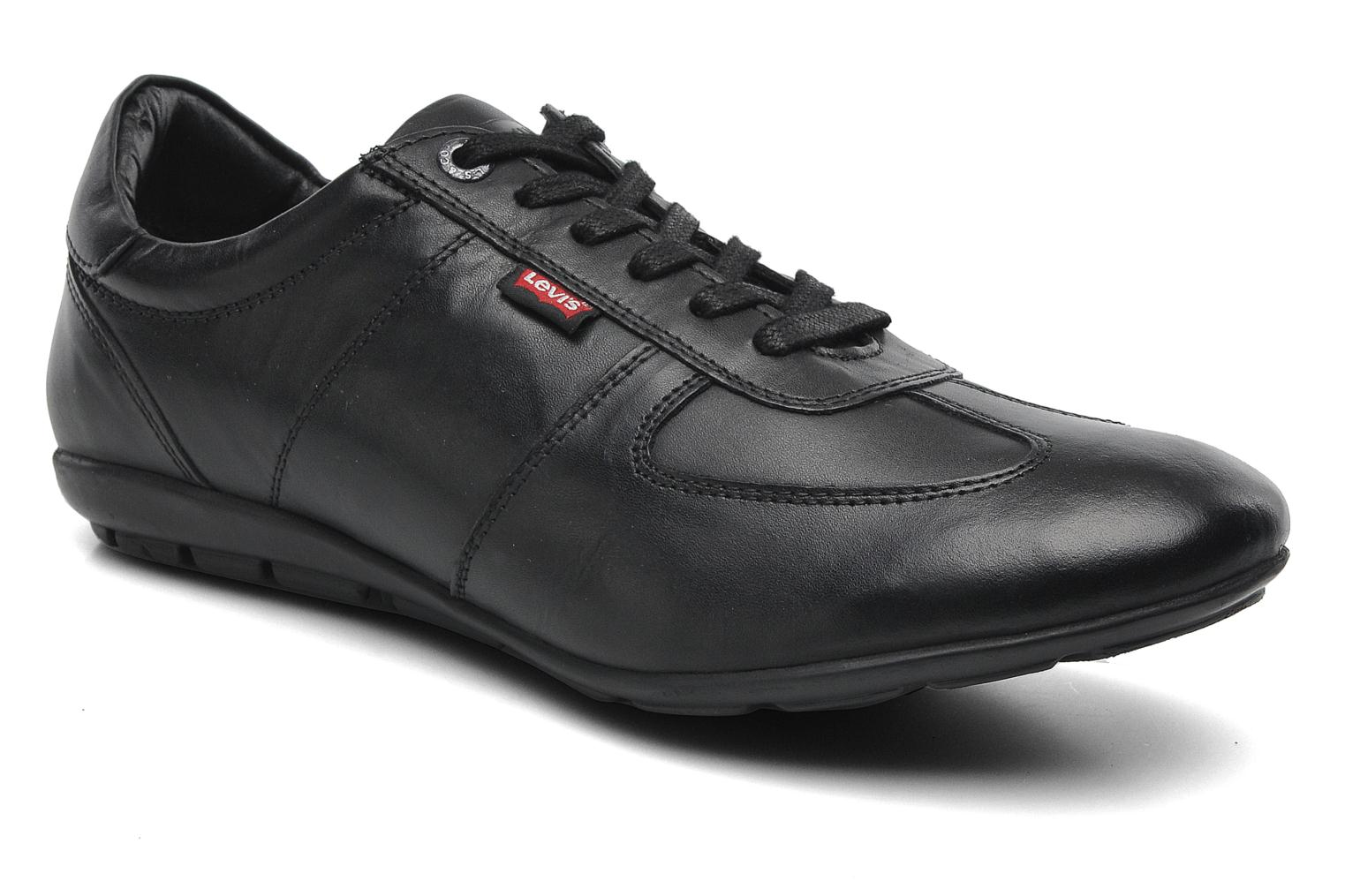 Trainers Levi's Chula Vista Black detailed view/ Pair view