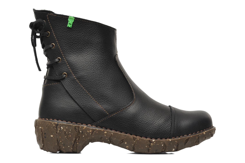 Boots en enkellaarsjes El Naturalista Yggdrasil N148 Zwart achterkant