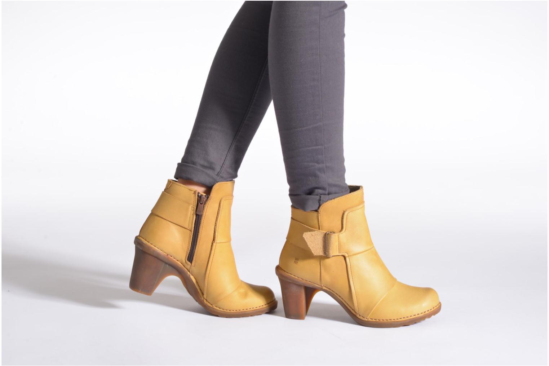 Bottines et boots El Naturalista Duna N566 Marron vue bas / vue portée sac