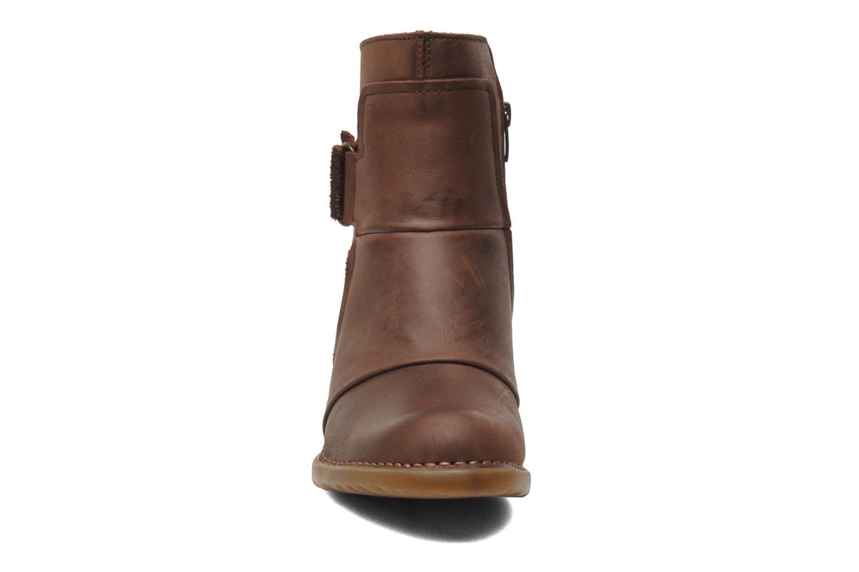 Bottines et boots El Naturalista Duna N566 Marron vue portées chaussures