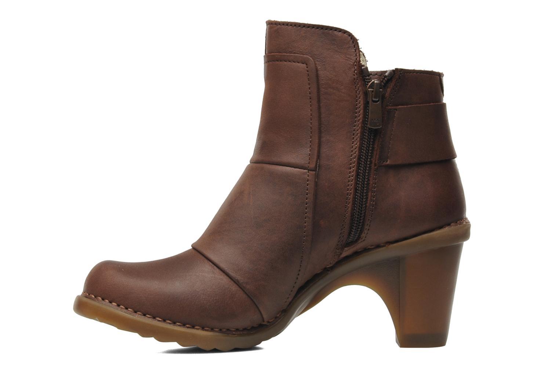 Bottines et boots El Naturalista Duna N566 Marron vue face