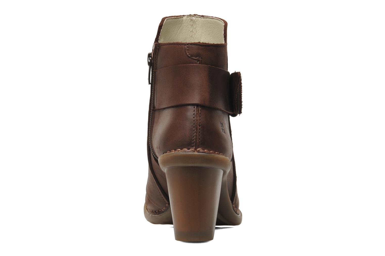 Bottines et boots El Naturalista Duna N566 Marron vue droite