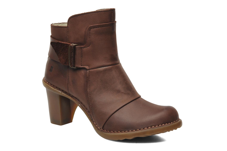 Bottines et boots El Naturalista Duna N566 Marron vue détail/paire