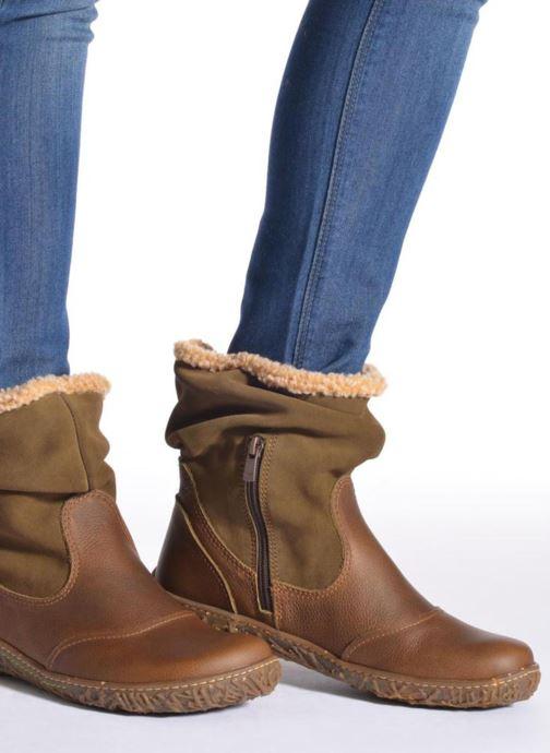 Stiefeletten & Boots El Naturalista Nido Ella N758 braun ansicht von unten / tasche getragen