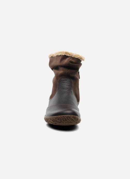 Bottines et boots El Naturalista Nido Ella N758 Marron vue portées chaussures