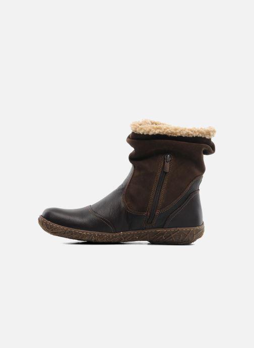 Boots en enkellaarsjes El Naturalista Nido Ella N758 Bruin voorkant