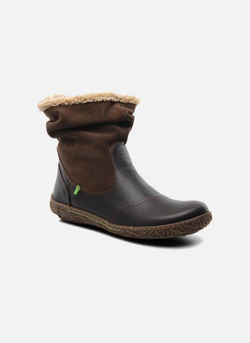 a8ff491322d5b0 Ankle boots El Naturalista Nido Ella N758 Brown detailed view/ Pair view