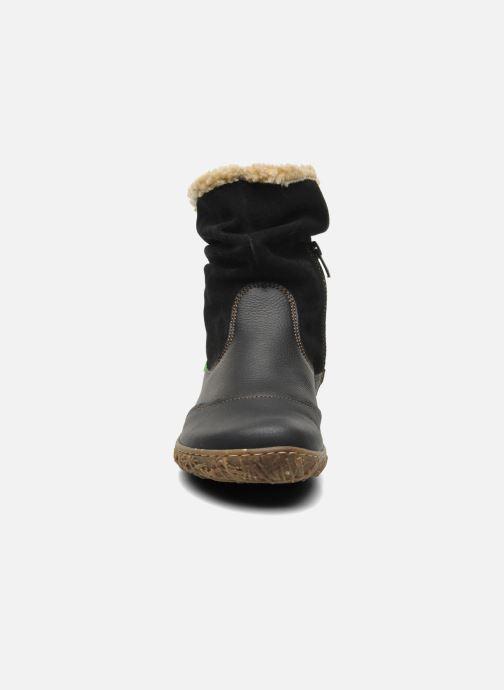 Ankle boots El Naturalista Nido Ella N758 Black model view