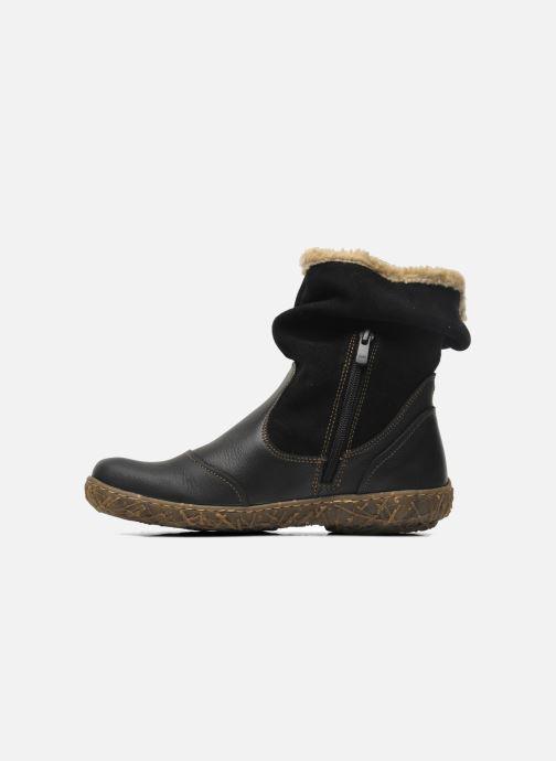 Ankle boots El Naturalista Nido Ella N758 Black front view