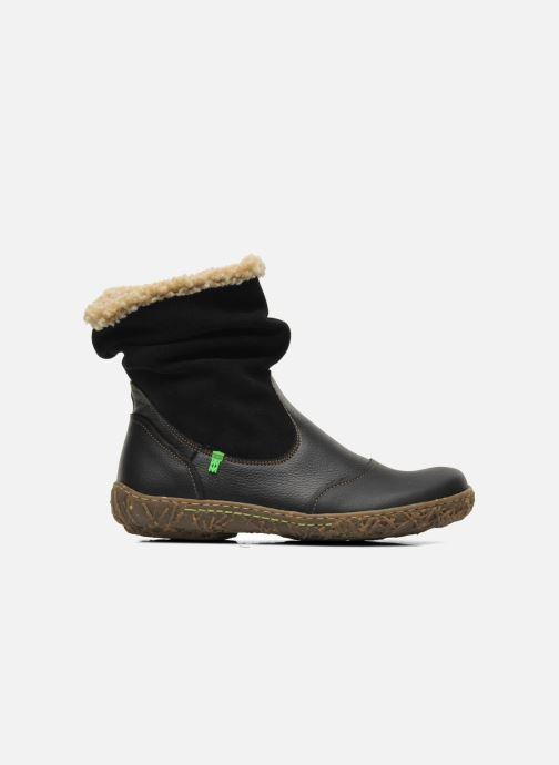 Ankle boots El Naturalista Nido Ella N758 Black back view