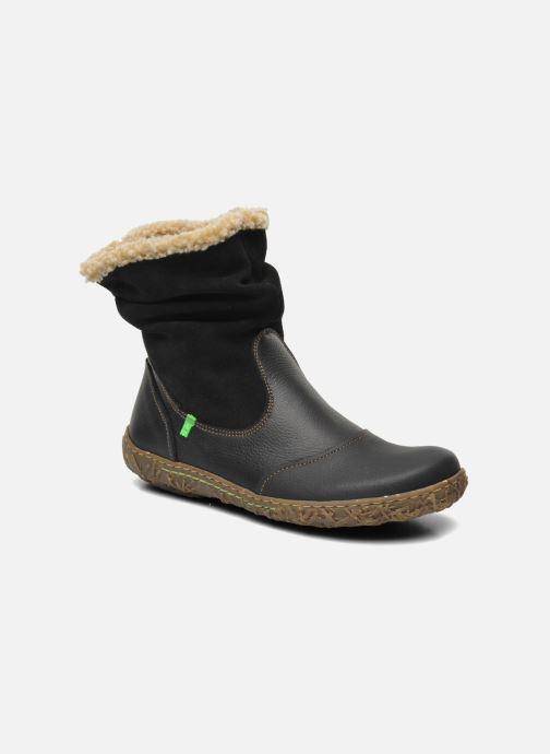 Ankle boots El Naturalista Nido Ella N758 Black detailed view/ Pair view