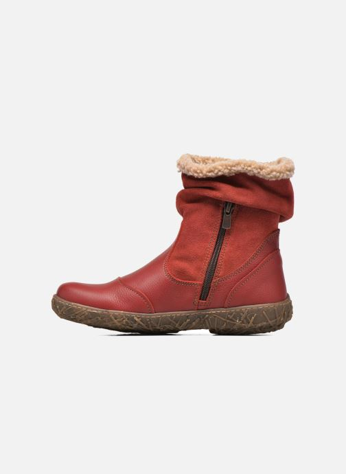 Ankle boots El Naturalista Nido Ella N758 Red front view