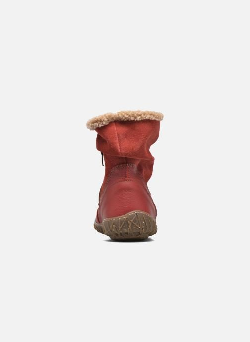 Ankle boots El Naturalista Nido Ella N758 Red view from the right