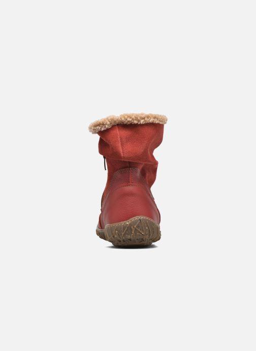 Stivaletti e tronchetti El Naturalista Nido Ella N758 Rosso immagine destra