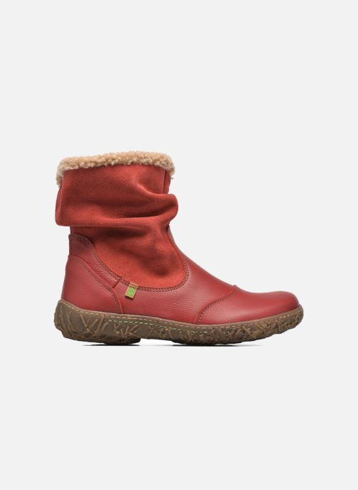 Ankle boots El Naturalista Nido Ella N758 Red back view