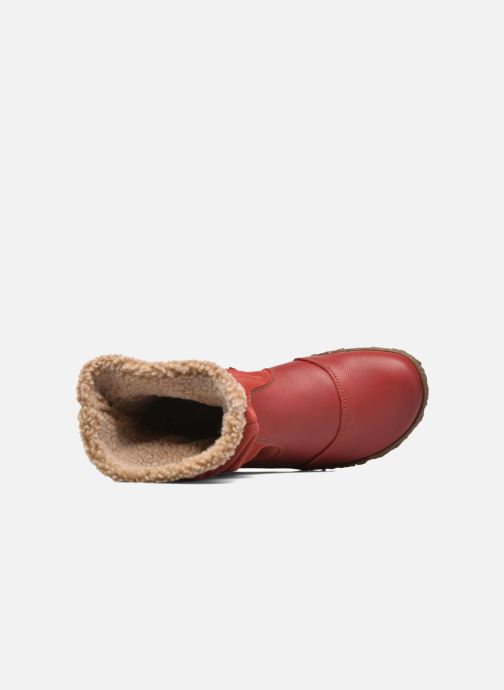 Bottines et boots El Naturalista Nido Ella N758 Rouge vue gauche