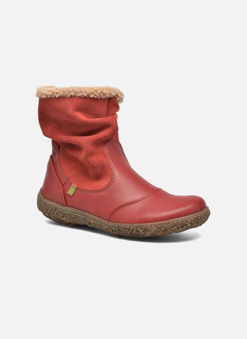 Ankle boots El Naturalista Nido Ella N758 Red detailed view/ Pair view