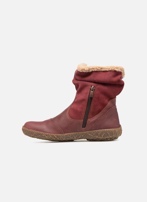 Bottines et boots El Naturalista Nido Ella N758 Bordeaux vue face
