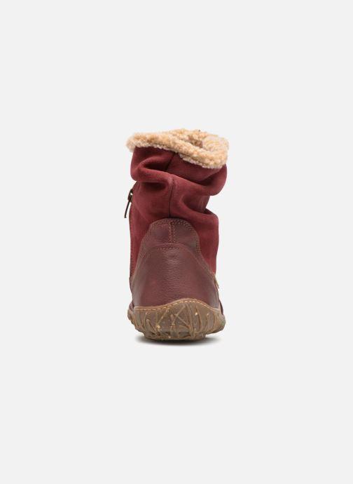 Boots en enkellaarsjes El Naturalista Nido Ella N758 Bordeaux rechts