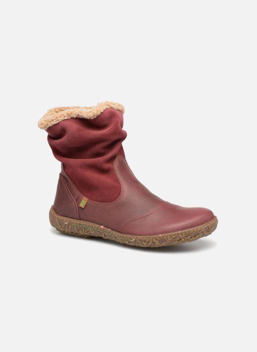Bottines et boots El Naturalista Nido Ella N758 Bordeaux vue détail/paire