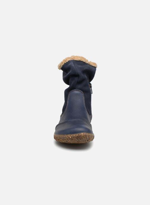 Stiefeletten & Boots El Naturalista Nido Ella N758 blau schuhe getragen