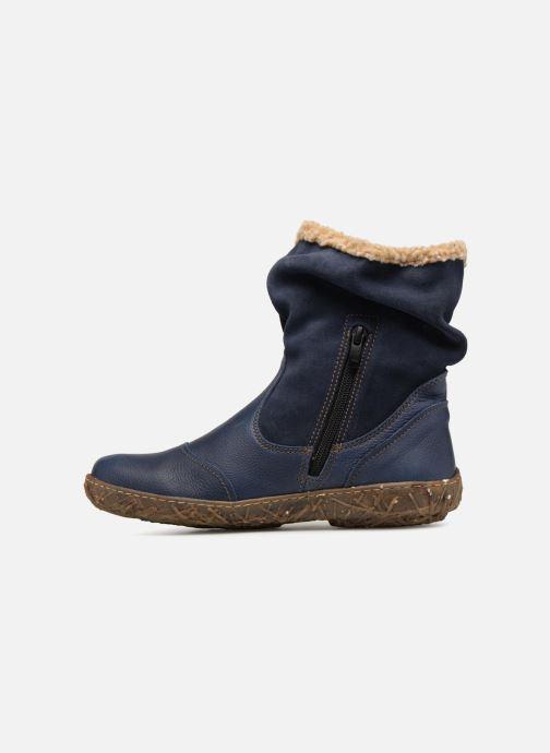 Bottines et boots El Naturalista Nido Ella N758 Bleu vue face