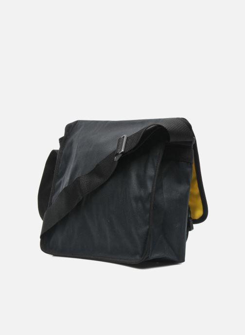 Bolsos de hombre Manhattan portage Waxed Canvas Europa Negro vista lateral derecha