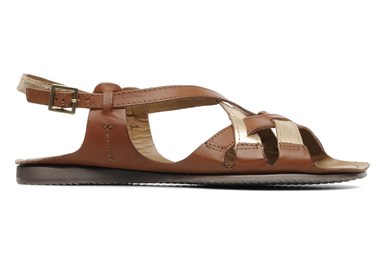 Sandales et nu-pieds Jonak Jacinte Marron vue derrière