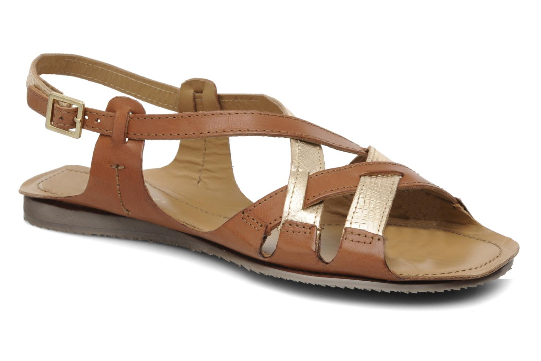 Sandales et nu-pieds Jonak Jacinte Marron vue détail/paire