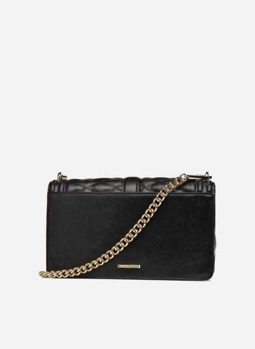 Sacs à main Rebecca Minkoff Love Crossbody Noir vue face