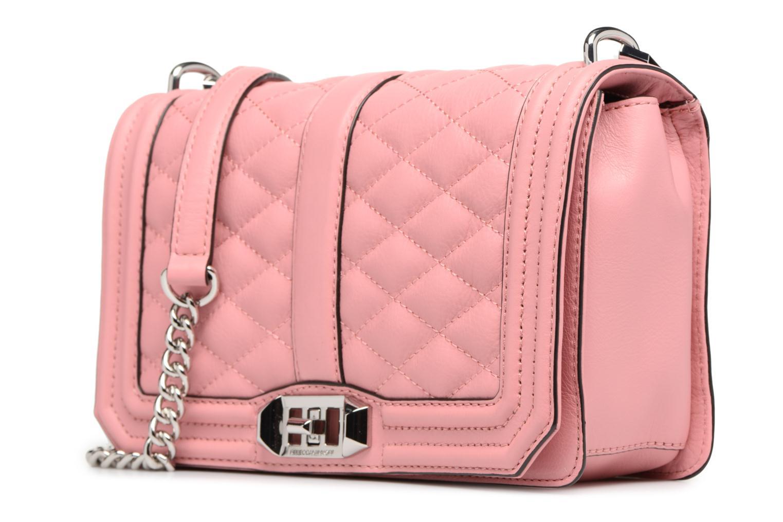 Handtaschen Rebecca Minkoff Love Crossbody rosa schuhe getragen