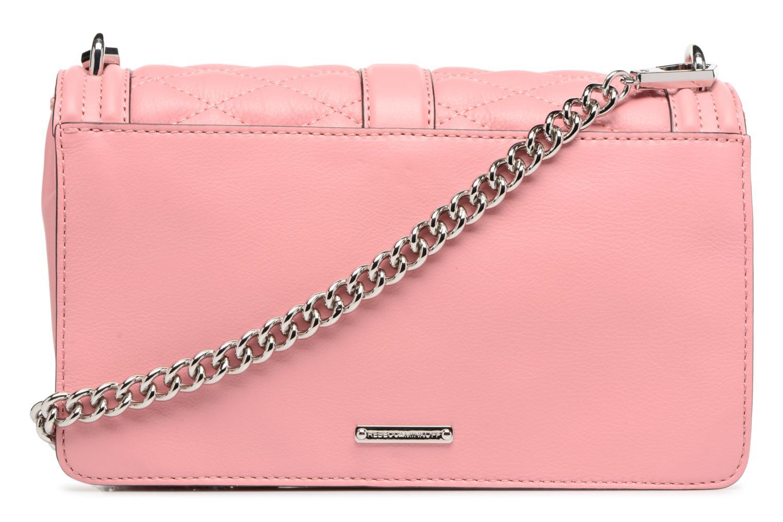 Handtaschen Rebecca Minkoff Love Crossbody rosa ansicht von vorne